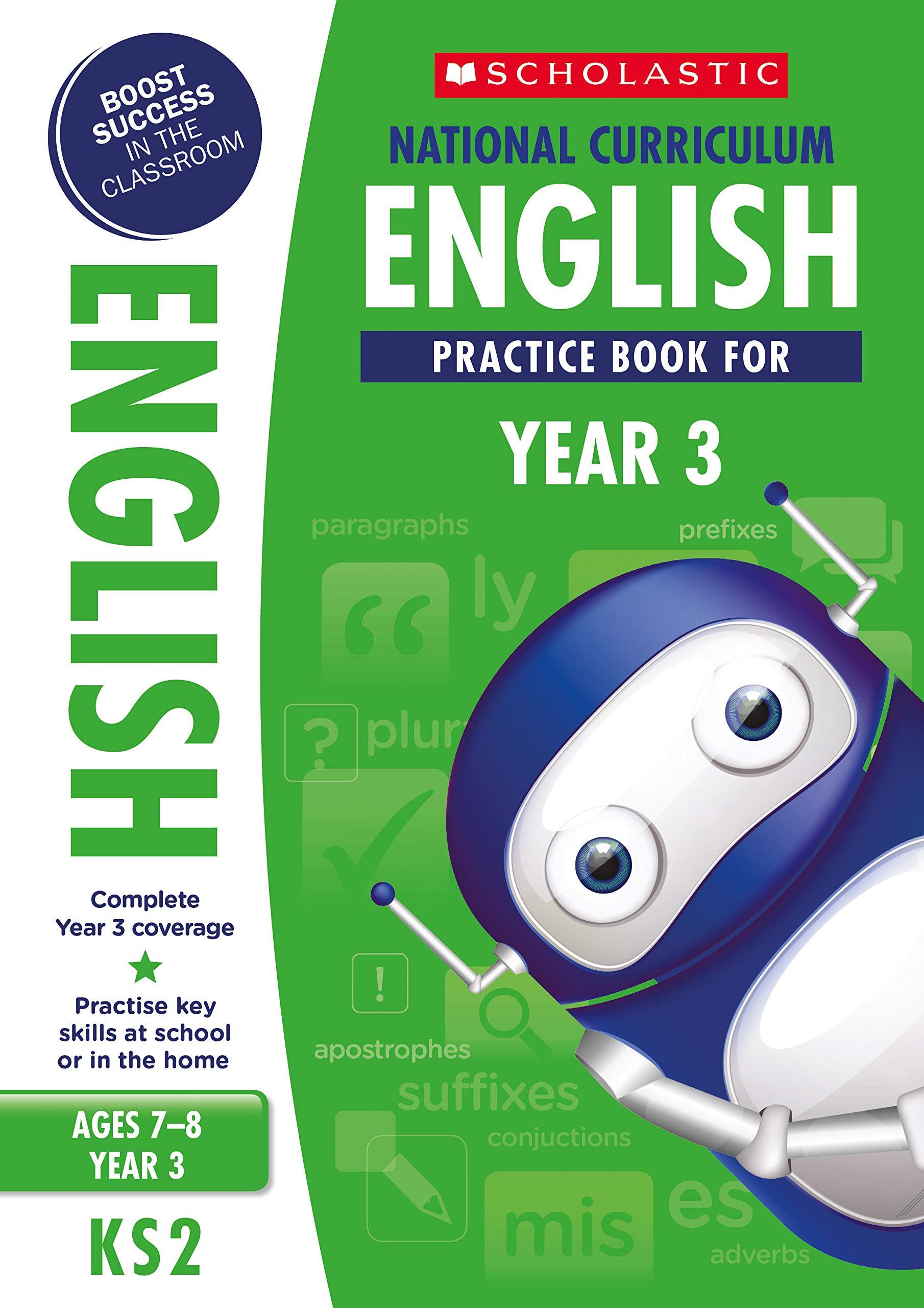 National Curriculum English Practice Book - Year 3 (100 Practice Activities)  Paperback – 26 Jun 2014