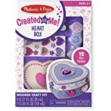 Melissa & Doug Created by Me! Heart Box Wooden Craft Kit