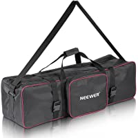 """Neewer 39""""x10""""x10""""/100x25x25cm Photo Video Studio Kit Carrying Bag with Extra Side Pocket for Light Stands, Boom Stands…"""