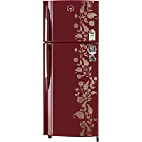 Godrej 255 L 2 Star ( 2019 ) Frost Free Double Door Refrigerator(RF GF 2552PTH Scr Drmn, Scarlet Dremin)