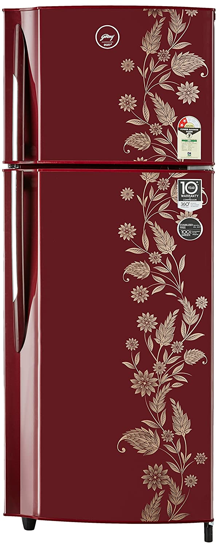 Godrej 255 L 2 Star Frost-free Double Door Refrigerator (RF GF 2552PTH, Scarlet Dremin)