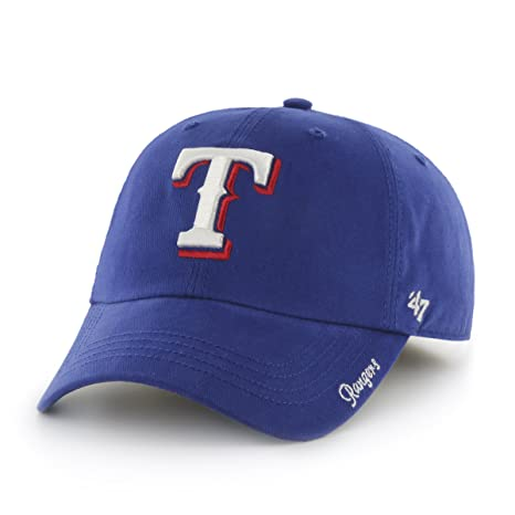 400807ee Amazon.com : '47 Womens MLB Texas Rangers Embroidered Relaxed Fit ...