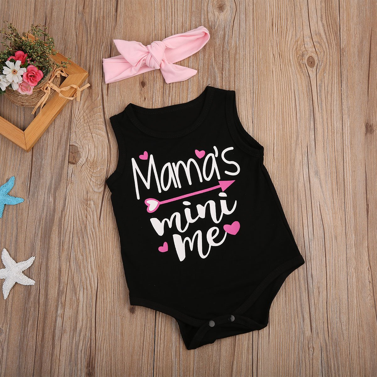 7e4339bb9772 Amazon.com  Maymeimei Newborn Baby Girl Boys Letter Romper ...
