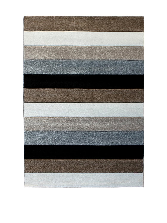 Wink Design Lines Tappeto Bagno/Scendiletto, Polipropilene,, 60x110x0.1 cm Tomasucci 2986 2986_Multicolore-60x110