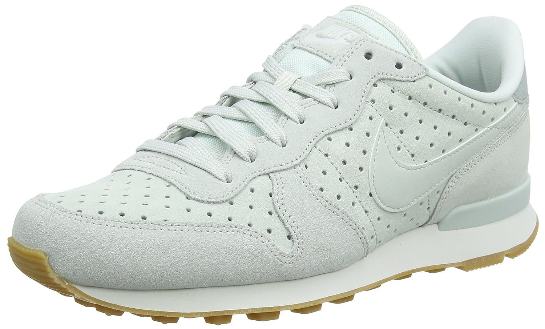 Nike Internationalist Premium, Zapatillas de Running para Mujer 38.5 EU Gris (Barely Grey/Barely Grey-light Pumice 014)