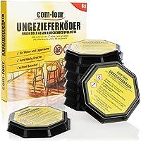 COM-FOUR® 8x betesfällor, beteformar som är färdiga att använda för tillförlitlig kontroll av ormskinn, såsom…