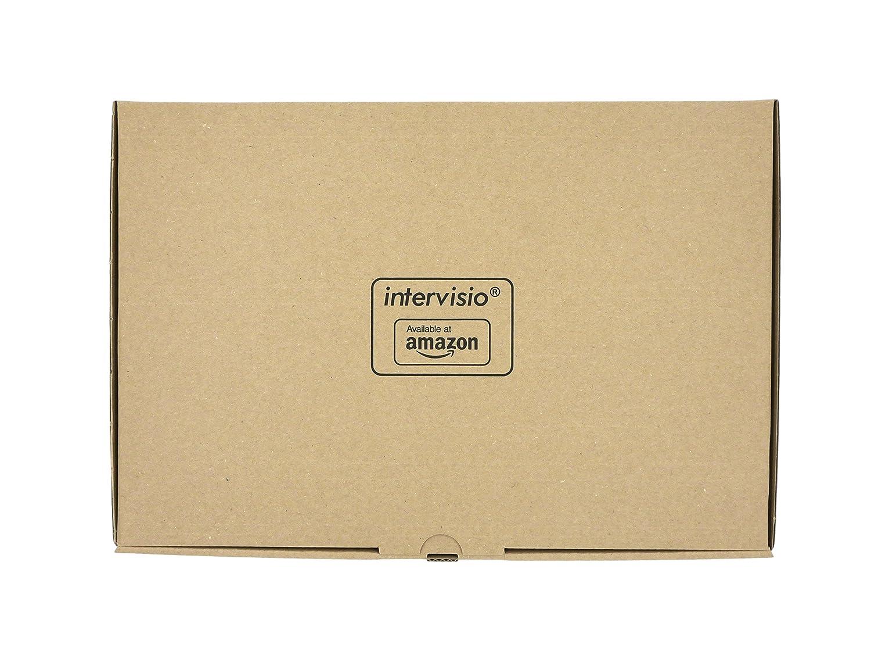 intervisio Collier de Serrage 300 mm x 3,6 mm Colliers Serre-Cable 300mm Serre C/âbles Rilsan Nylon Attache C/âble Lot de 200 Pi/èces Noir