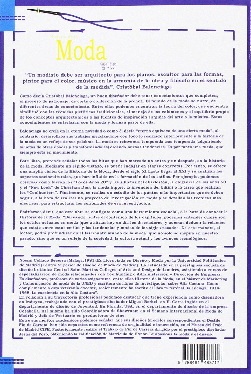 Historia de la moda 2ª Edición . Siglo XVI - Siglo XXI: Amazon.es ...