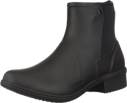 Bogs Auburn Rubber Womens Boots UK 6 Black: