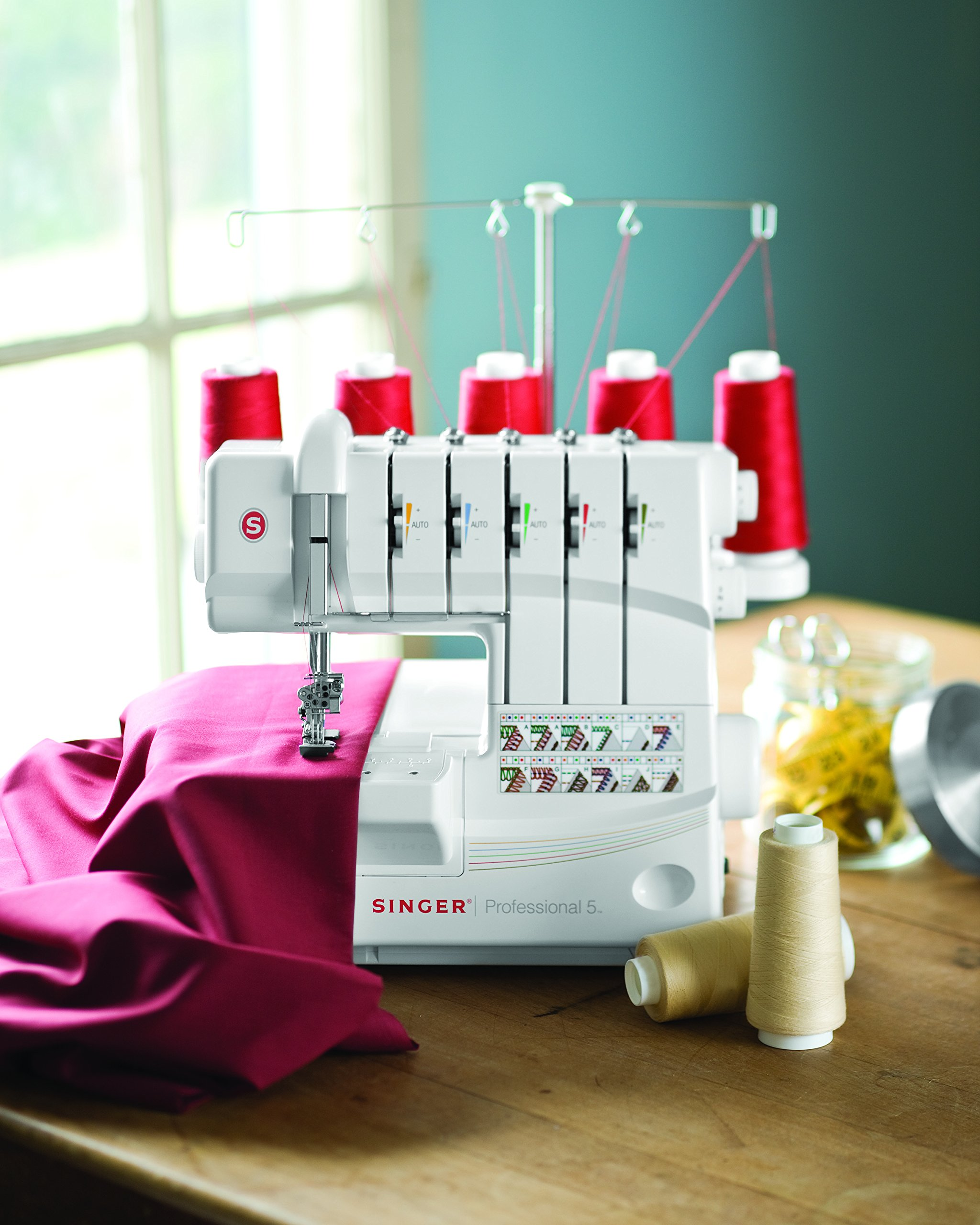 SINGER | Professional 5 14T968DC Serger with 2-3-4-5