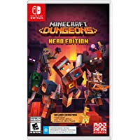 Minecraft Dungeons Hero Edition - Nintendo Switch Games and Software