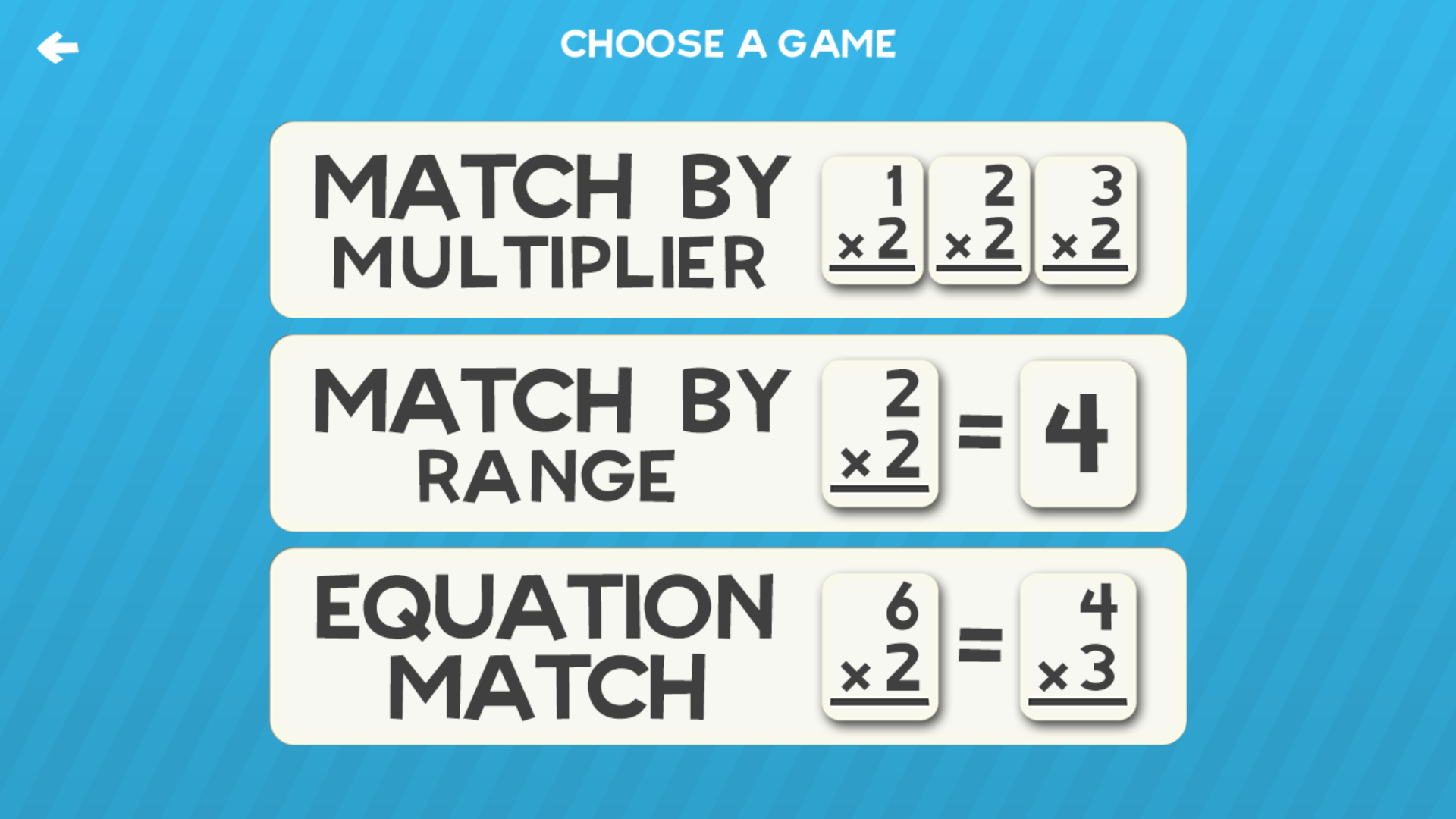 Amazon.com: Multiplication Flashcard Quiz and Match Games for kids ...