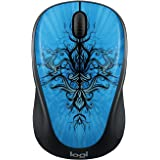 Wireless Mouse M317C with Unifying Receiver - Blue Trance (Blue Trance)