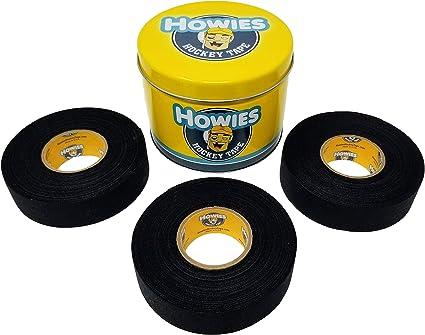 3 Clear//2 White//1 Wax Howies Hockey Tape Wax Pack Hockey Tape