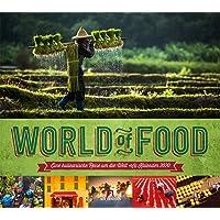 World of Food 2020, Wandkalender im Querformat (54x48 cm) - Kulinarischer Lifestyle-Kalender mit Monatskalendarium