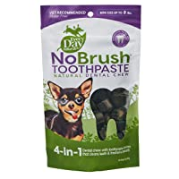 Every Day Naturals Dog Dental Chew, NoBrush Toothpaste for Mini Breeds, 3 oz Bag