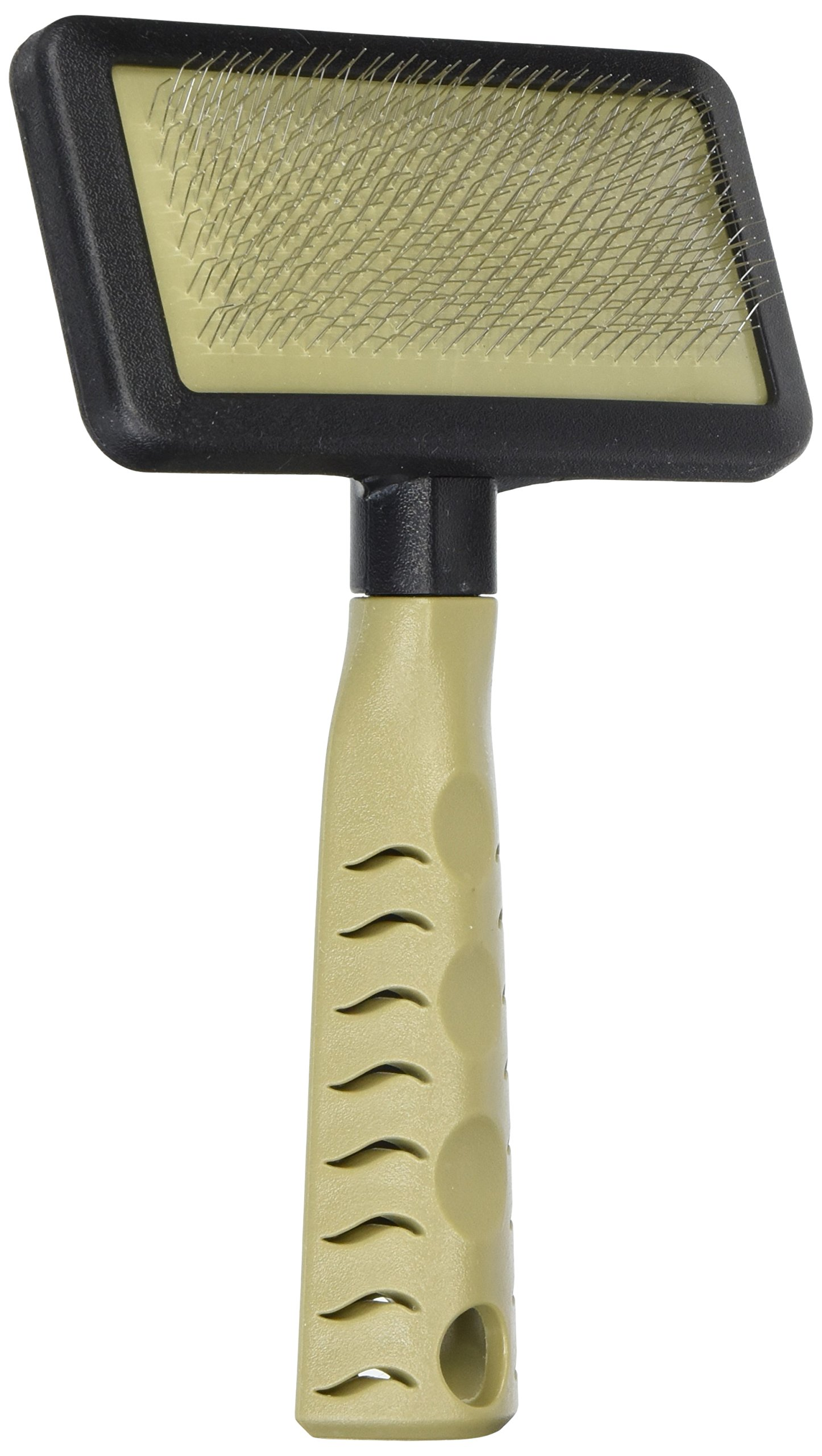 Pet Champion Dog Grooming Slicker Brush, Tan