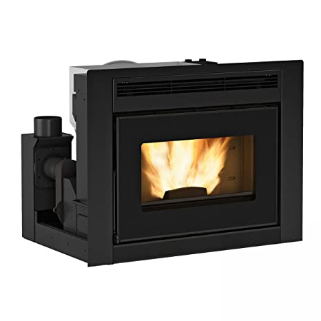 Extra Flame x1282000 Comfort Idro L80 Agua Líder de pellets Chimenea de uso