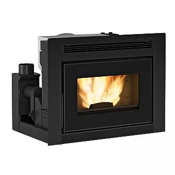 Extra Flame x1282000 Comfort Idro L80 Agua Líder de pellets ...