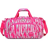 db5502c826 AOKE 23L Stylish Duffel Luggage Weekender Bag for Girl 2017 New Rose Candy  Color
