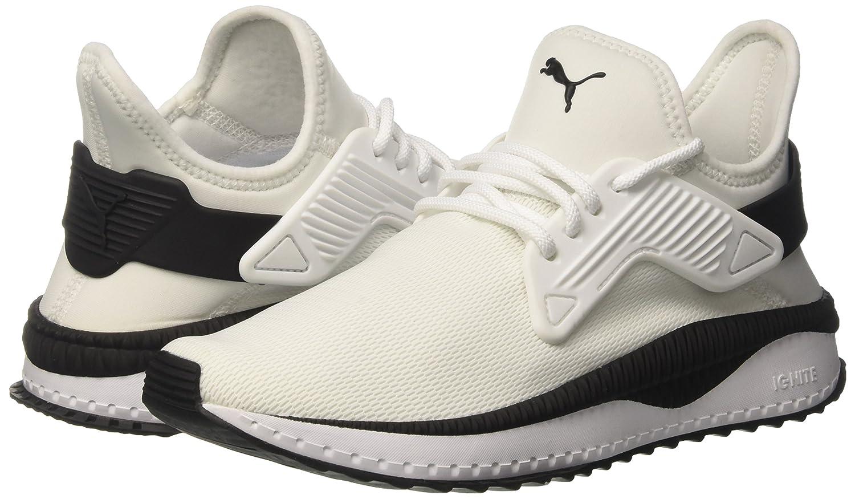 Puma Unisex-Erwachsene Tsugi Cage Weiß-puma Sneaker, Weiß (Puma Weiß-puma Cage schwarz) 5465c8