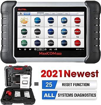 Autel Maxicom Mk808 Obd2 Scanner Diagnosegerät Mit Allen System Servicefunktionen Inklusive Öl Reset Epb Bms Sas Dpf Tpm Und Immo Md802 Maxicheck Pro Auto