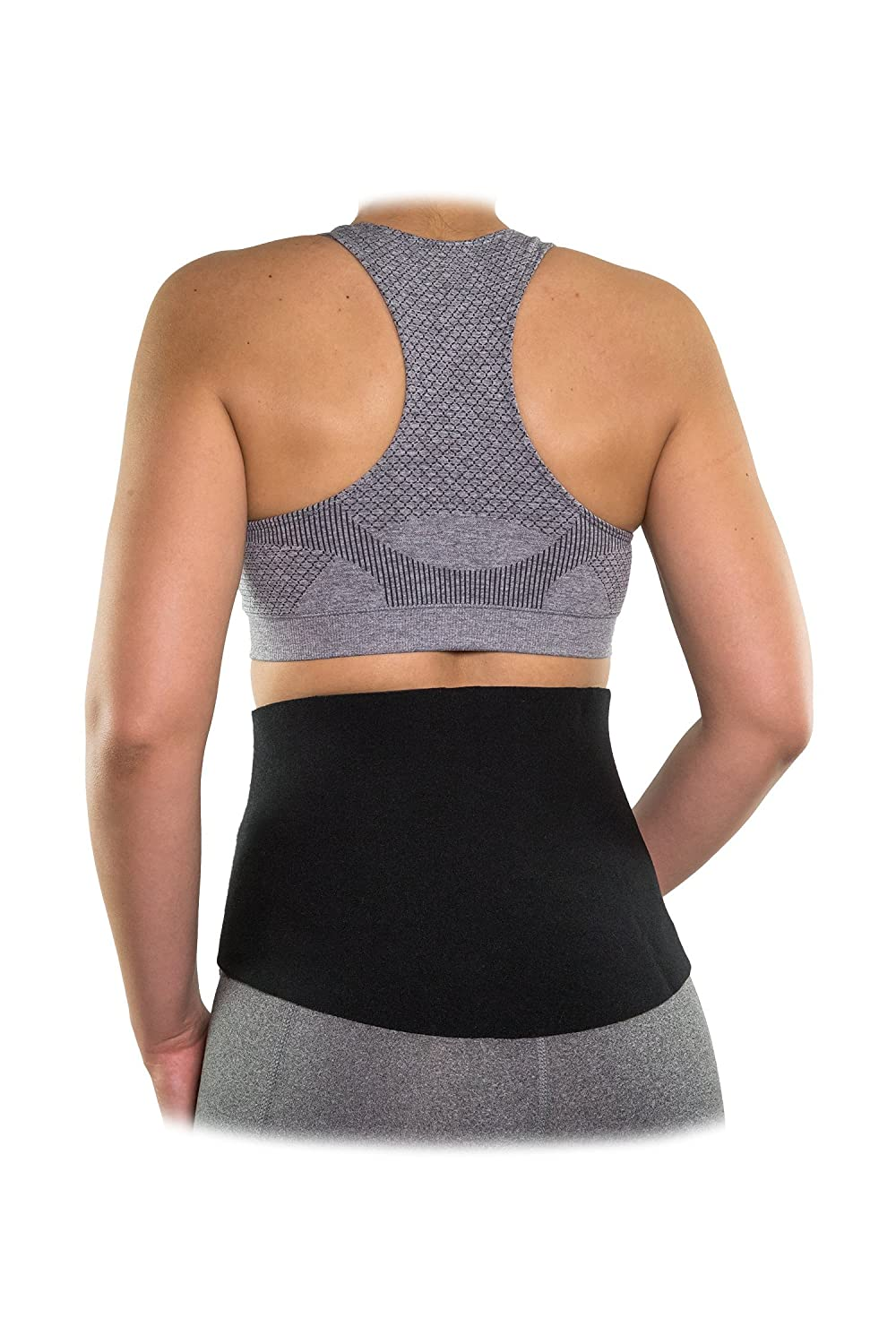 2f37b88133a Amazon.com   McDavid Waist Trimmer Ab belt- Weight Loss- Abdominal Muscle   Back  Supporter   Sports   Outdoors