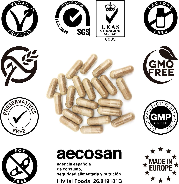 Levadura de Arroz Rojo con 10 mg de Monacolina K y 5 mg de Coenzima Q10 | 180 cápsulas vegetales | Suministro para 6 meses | Regula los niveles de colesterol sanguíneo |