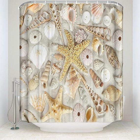 Details about  /Ocean Marine Reptile Kronosaurus Ammonite Shower Curtain Set Waterproof Fabric