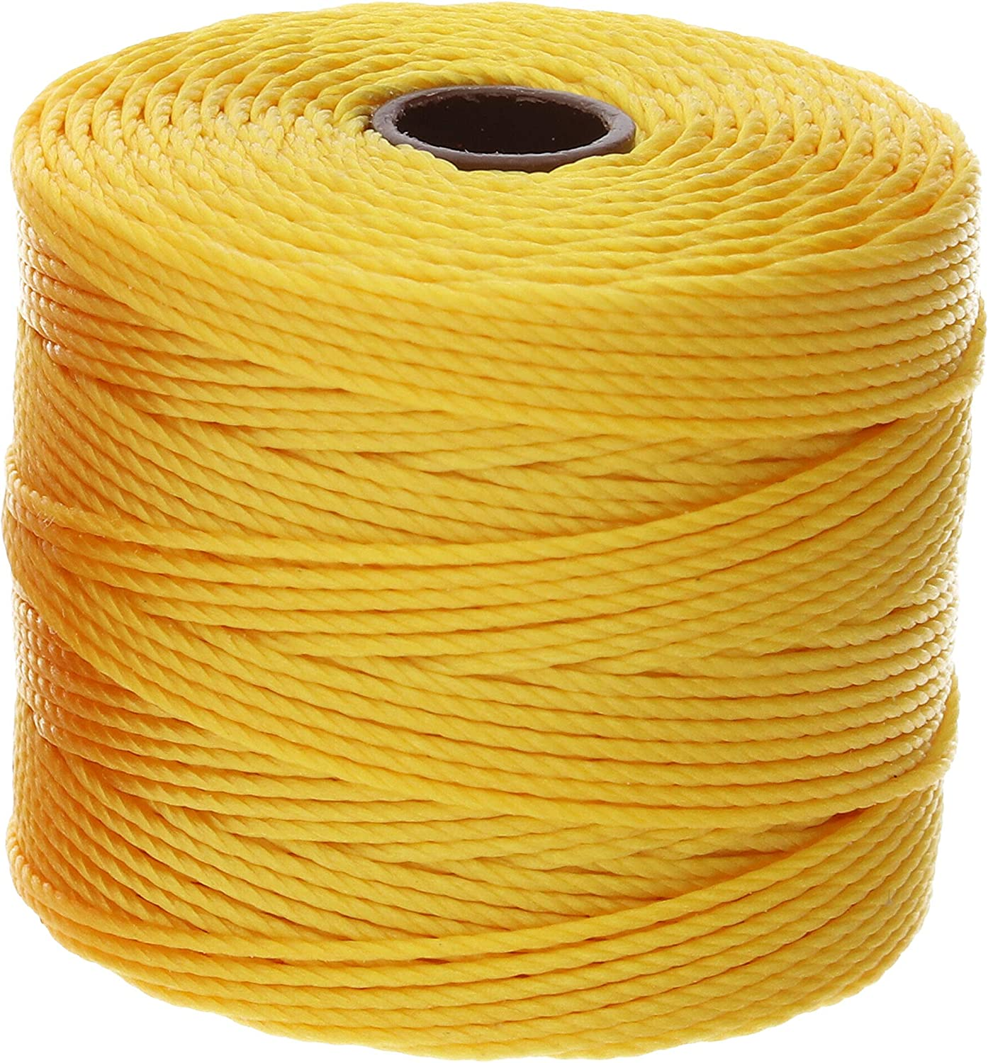 S-Lon Cord Great for Micro-Macrame 77 yard spool #18 Orange Kumihimo and More From BeadSmith