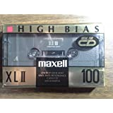 Maxell High Bias XLII 100 Minutes Blank Audio Cassette Tape (100 Minutes)