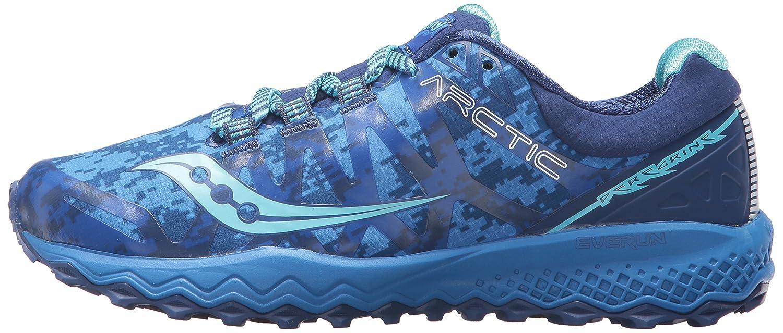 Saucony Woherren Peregrine 7 Ice+ schuhe Running schuhe Ice+ Blau 5.5 Medium US 5fd556