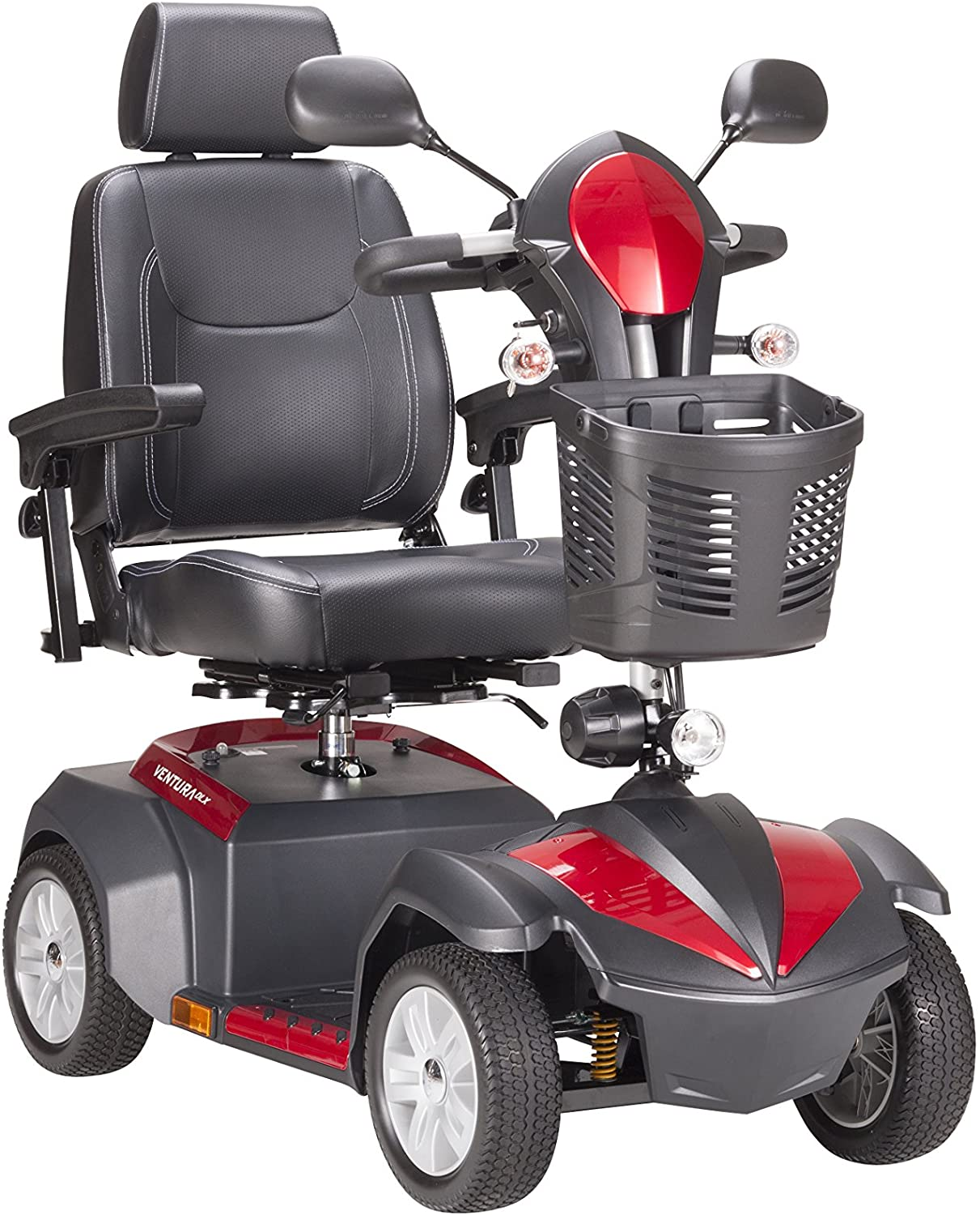 "Drive Medical Ventura Power Mobility Scooter, 4 Wheel, 18"" Captains Seat: Health & Personal Care"
