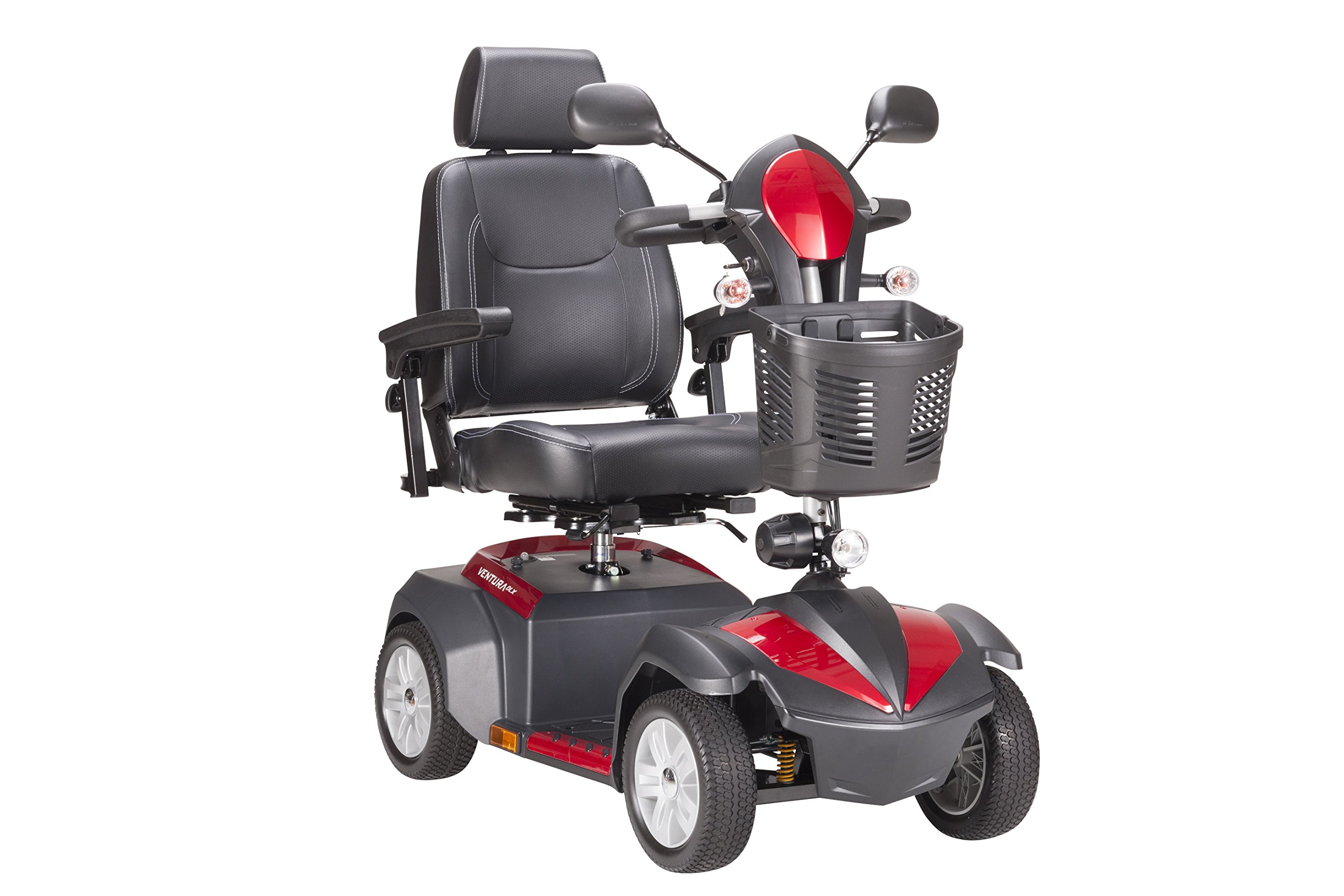 Drive Medical Ventura Power Mobility Scooter, 4 Wheel, 20'' Captains Seat by Drive Medical