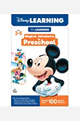 Disney Learning | Magical Adventures in Preschool | Math and Language Arts Workbook, 256pgs Paperback