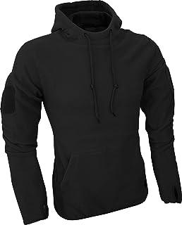 Kombat UK Men s Recon Tactical Fleece Hoodie-Black, Medium  Amazon ... 012b86d1a3