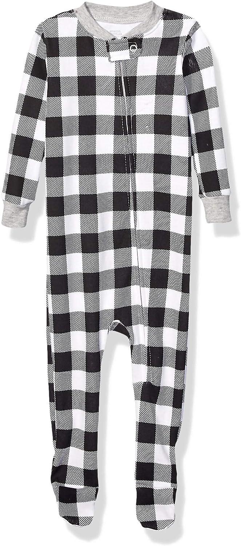 3er Spotted Zebra Unisex Kinder 3-Pack Snug-fit Cotton Footless Sleeper Pajamas Marke