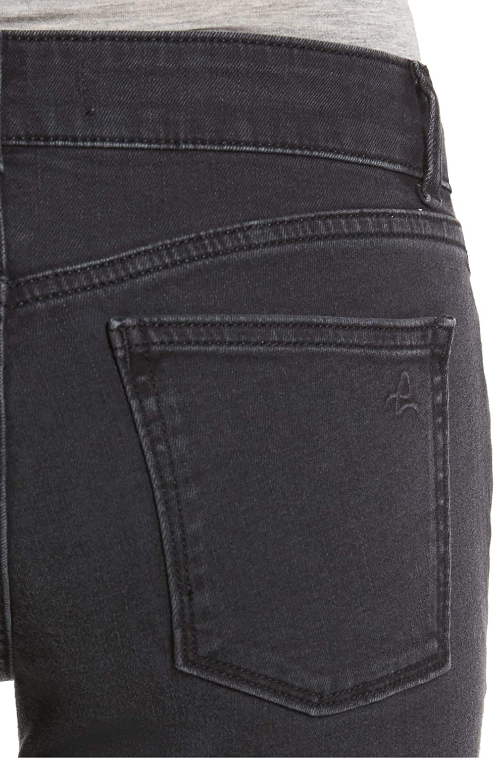 DL1961 Solid Womens 32X25 Stretch Flare Crop Jeans