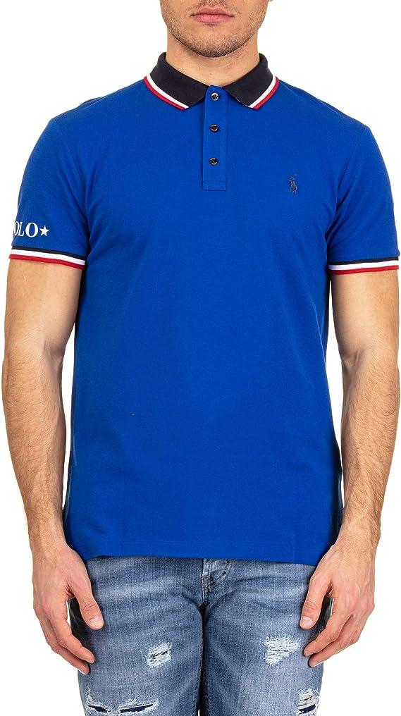 Polo Polo Ralph Lauren Sleeve Knit Azul Electrico S Azulón ...