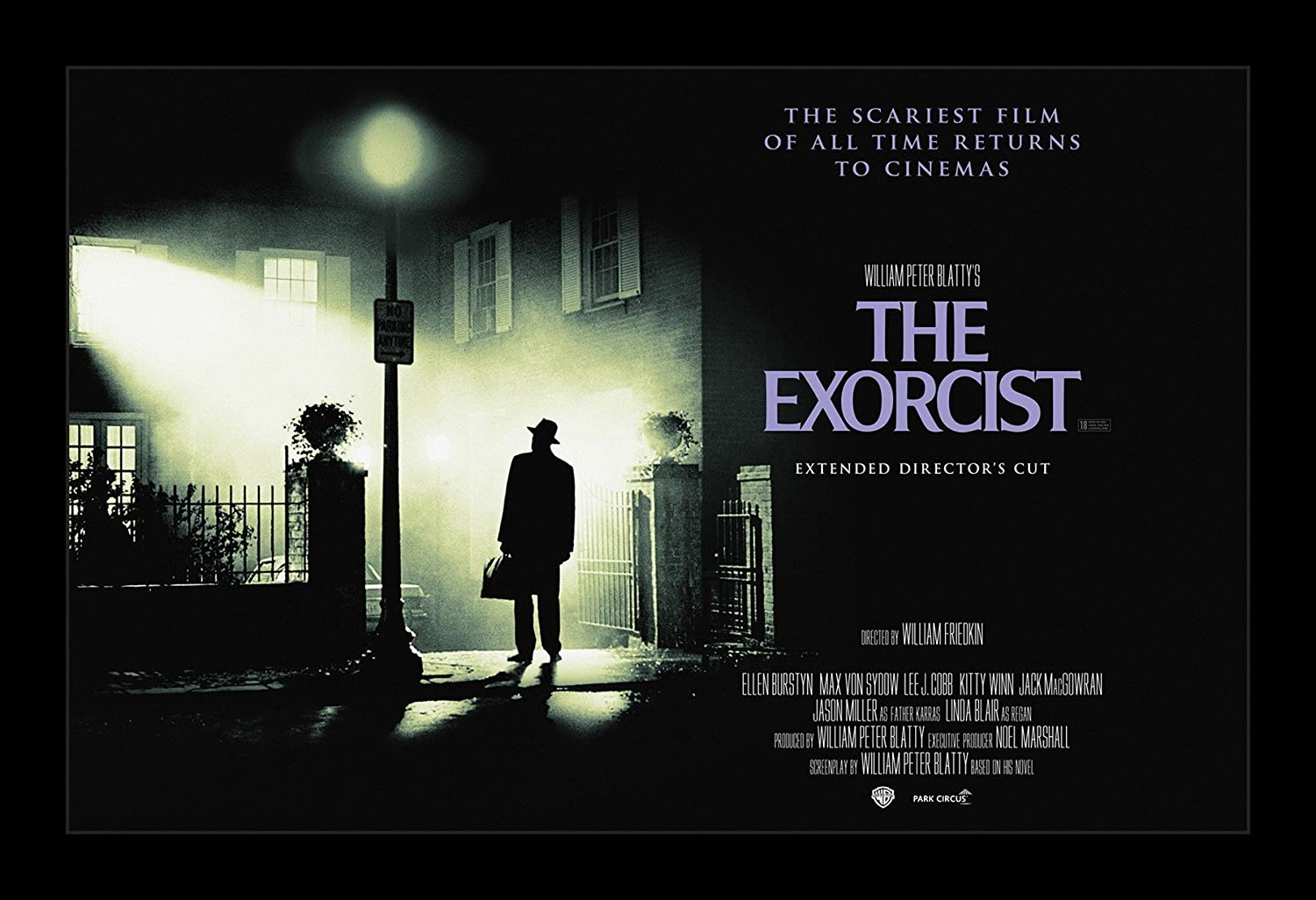 Wallspace The Exorcist - 11x17 Framed Movie Poster