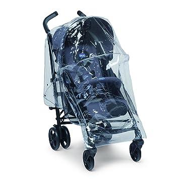 Chicco 79510 Deluxe lluvia cobertura universal cochecitos: Amazon.es: Bebé