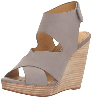Splendid Women's Jess Wedge Pump, Light Grey, ...