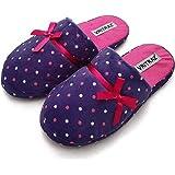 VRITRAZ Unisex Men Women Comfort Slip On Closed Toe Indoor Clog House Slipper