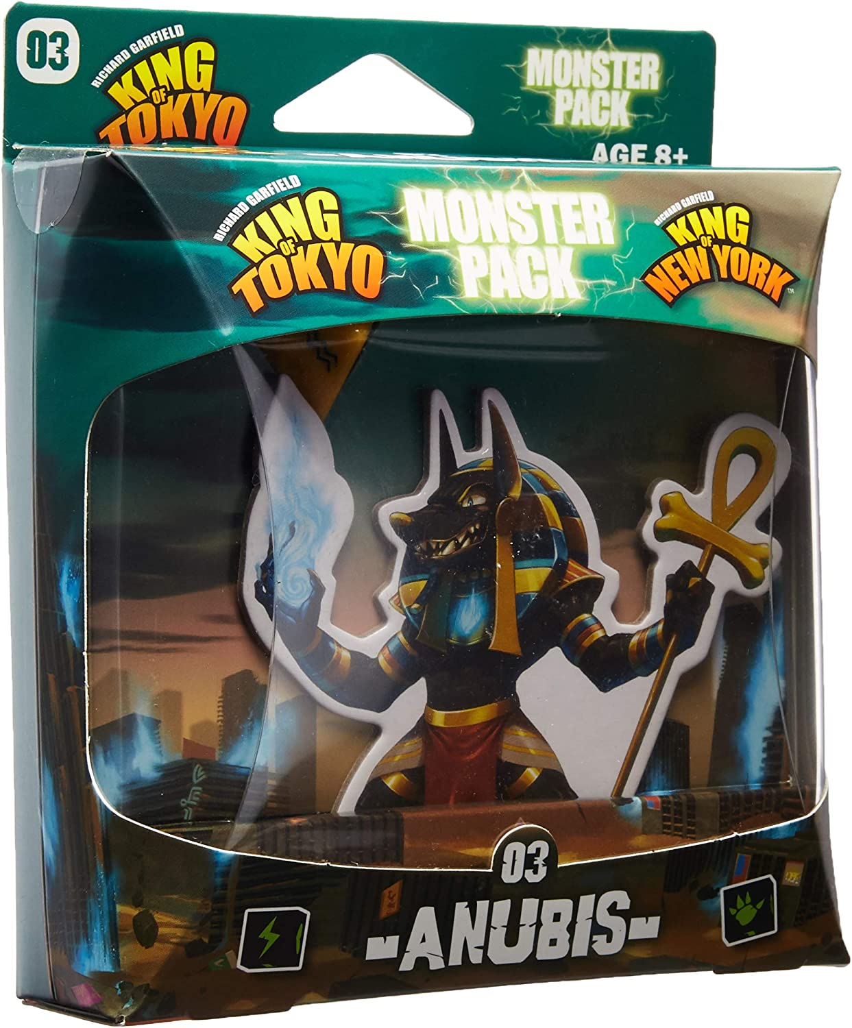 IELLO KOT_MP_Anu King of Tokyo Anubis Monster Pack Juego de Mesa ...