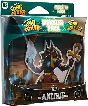 IELLO KOT_MP_Anu King of Tokyo Anubis Monster Pack Juego de Mesa, Multicolor: Amazon.es: Juguetes y juegos