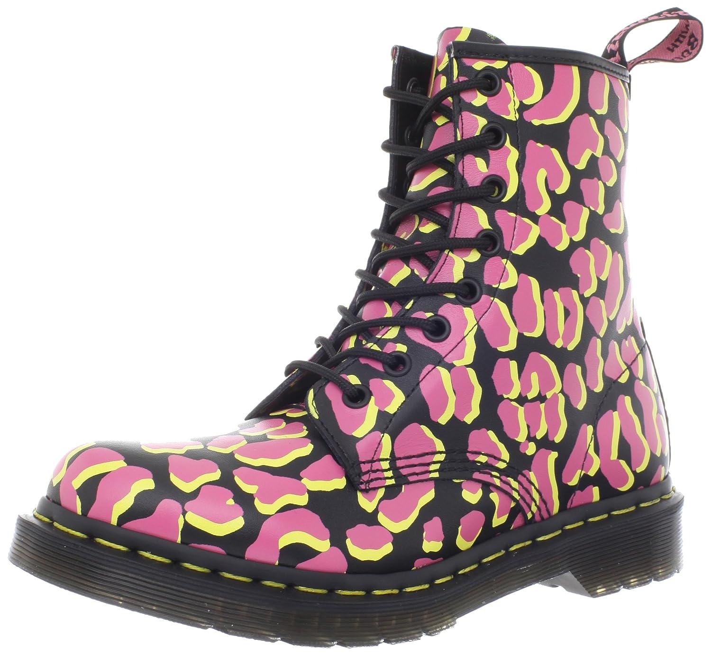 Dr. Boots femme Martens 1460 W Shimmer, Black/Pink/Yellow Boots femme Black/Pink/Yellow bed3aee - boatplans.space