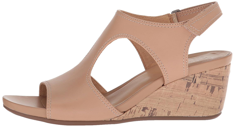 Naturalizer Women's Cinda Wedge Sandal B076NXNR67 5.5 B(M) US Gingersnap