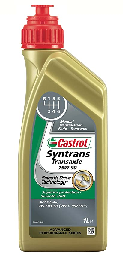 c2cf8a96d00 Castrol 1557BA Syntrans Transaxle Fluid 75W-90, 1 Liter, Gold ...