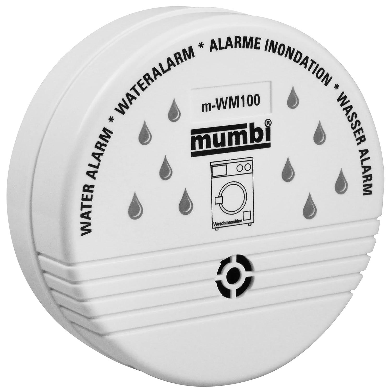mumbi WM100 Eau Alarme (idé al pour les cuisines, salles de bains, Cave) Wasser-Melder