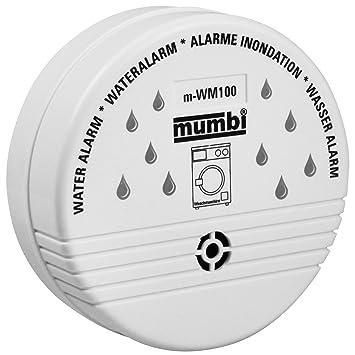 Mumbi Wm100 Wassermelder Wasser Melder Fur Gefahrdete Bereiche Wie